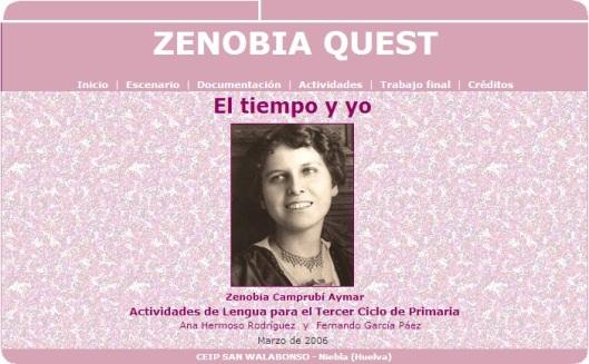 Zenobia Camprubí - WebQuest 1
