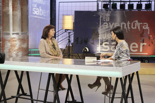 "Matilde Eiroa en el programa ""Aventuras del saber"""